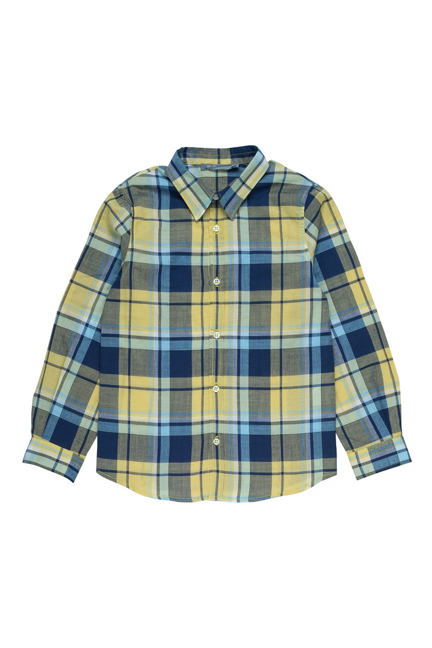 Bonpoint Хлопковая рубашка AGILE рубашка в клетку insight liberty pit blue