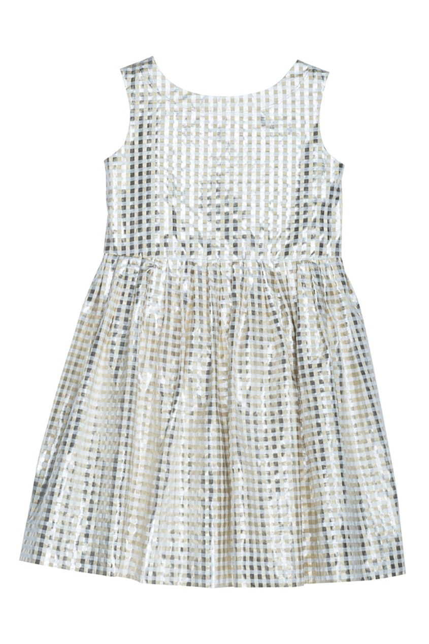 Bonpoint Жаккардовое платье в клетку ALINA