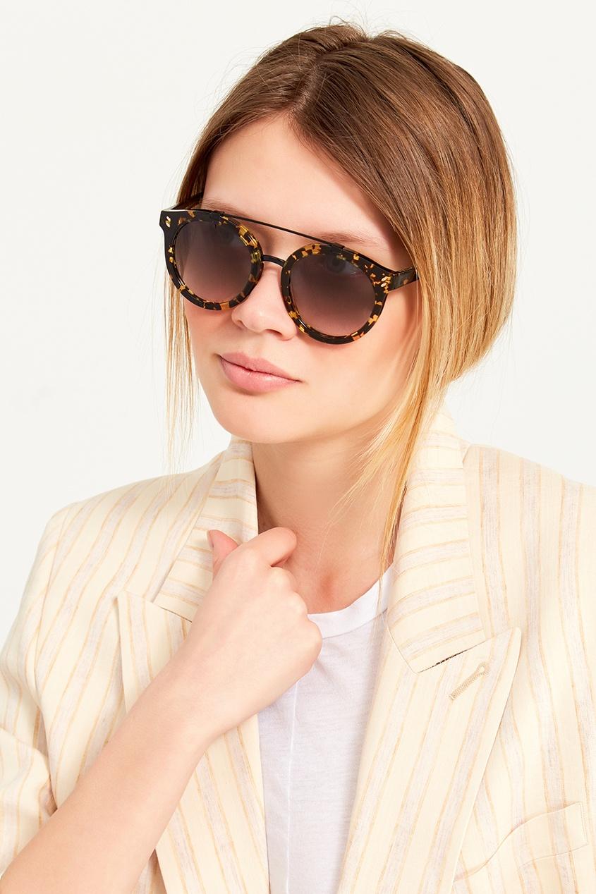 Черепаховые солнцезащитные очки