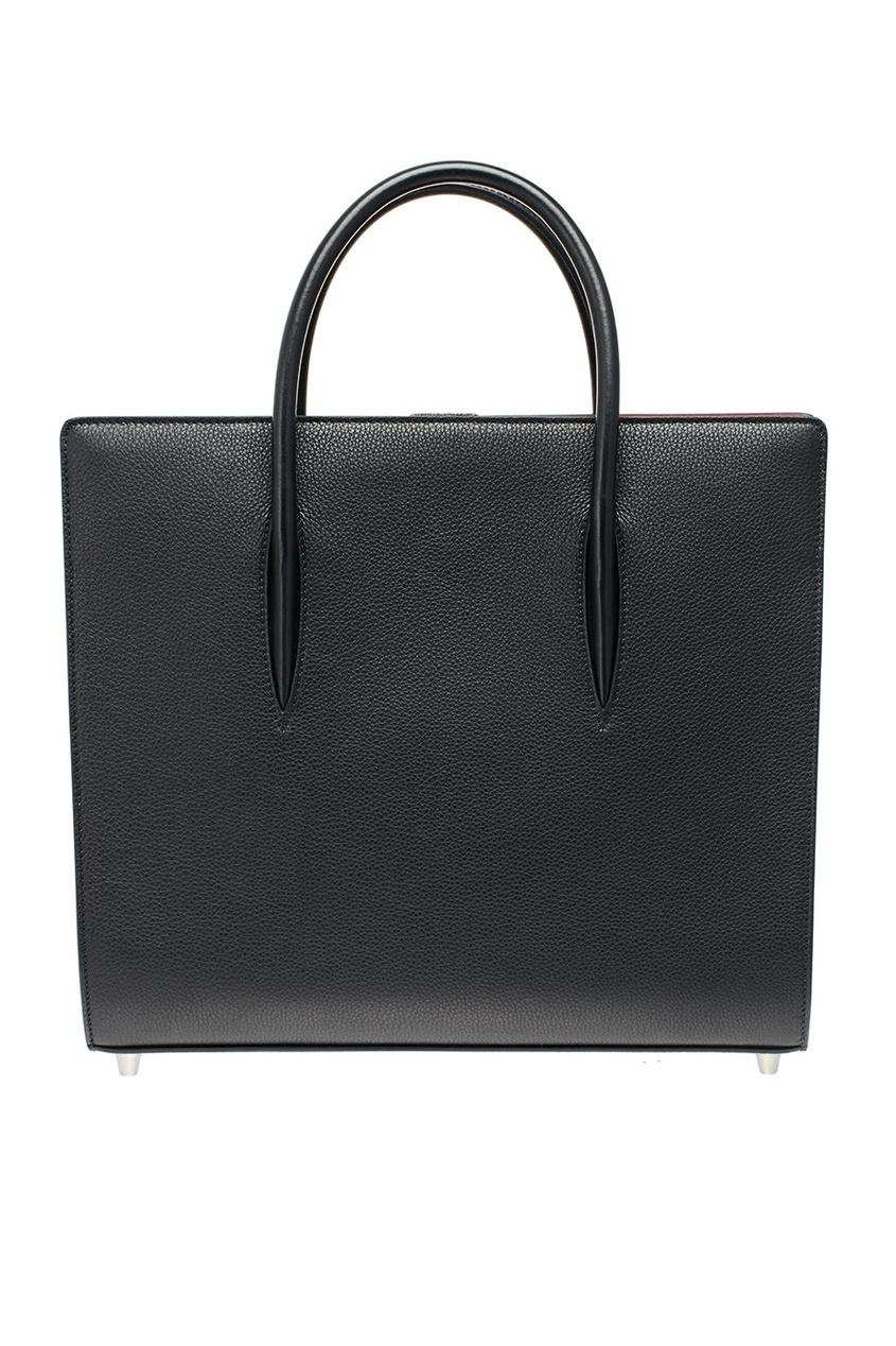 Черная сумка из кожи Paloma Large