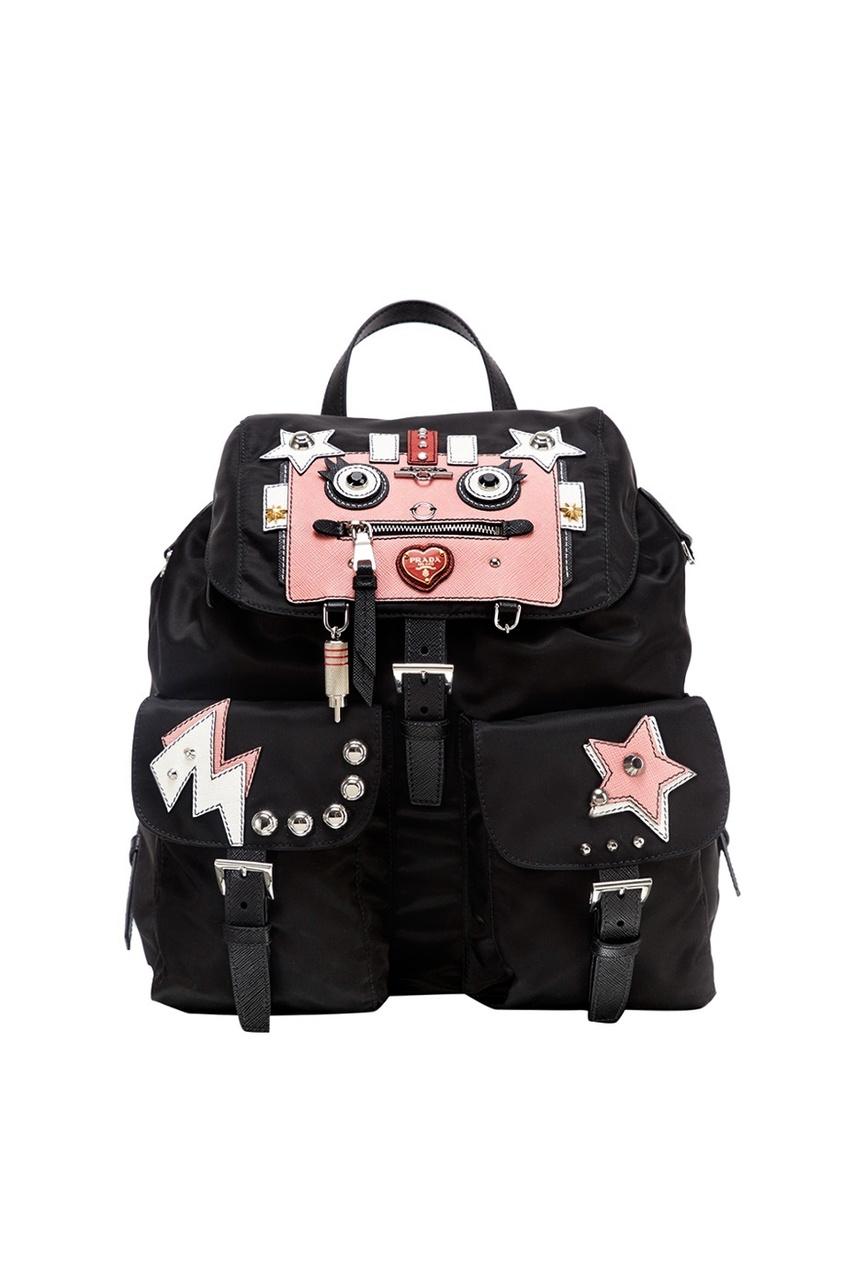 Текстильный рюкзак с аппликациями