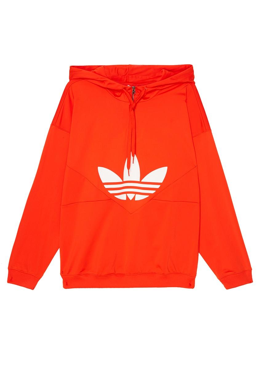 Adidas Оранжевое худи CLRDO