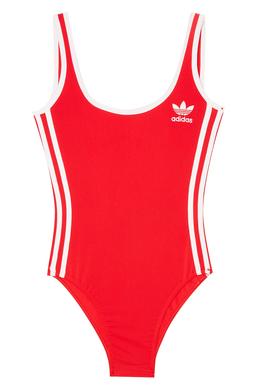 Adidas Красное боди 3-Stripes adidas adidas russia 3 stripes cap