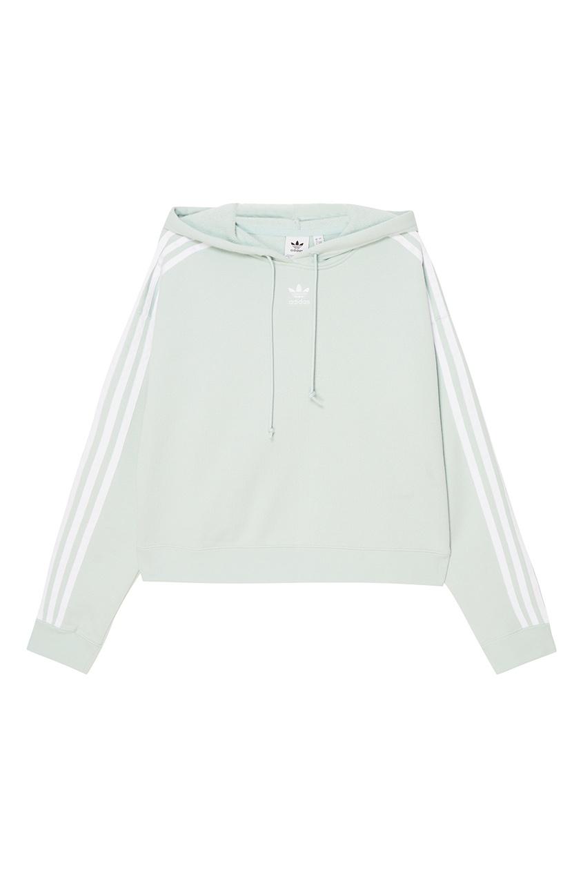 Adidas Хлопковое худи Cropped худи