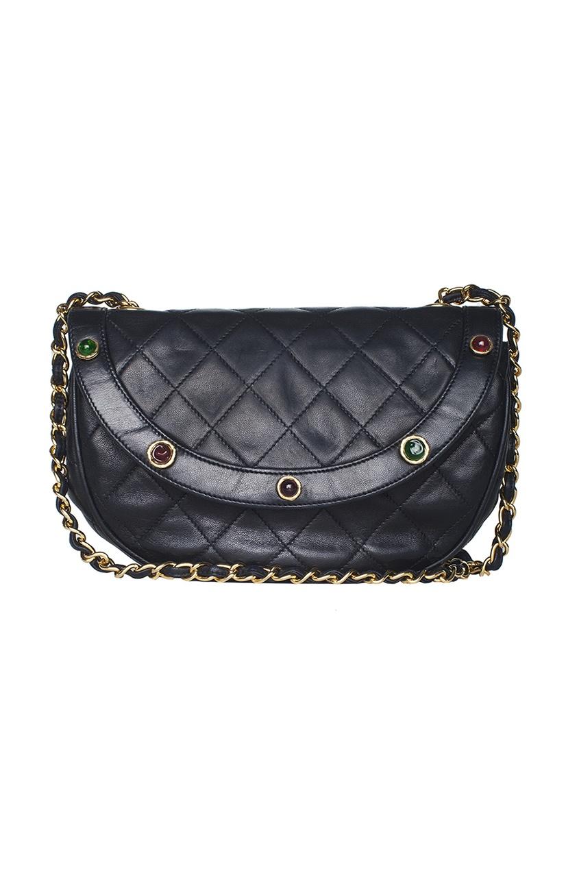 Chanel Vintage Кожаная сумка (70-е гг.)