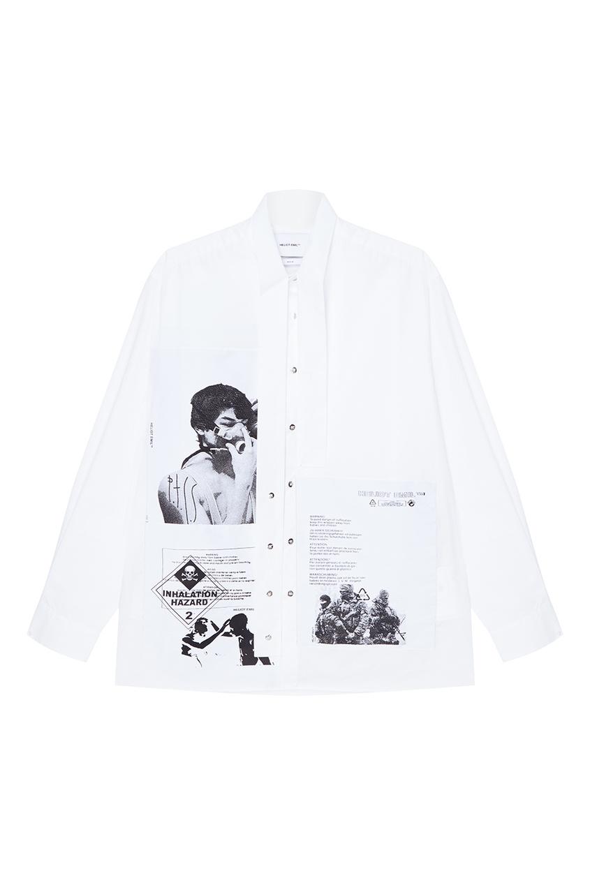 Heliot Emil Хлопковая рубашка с фотопринтом emil wolf progress in optics 52