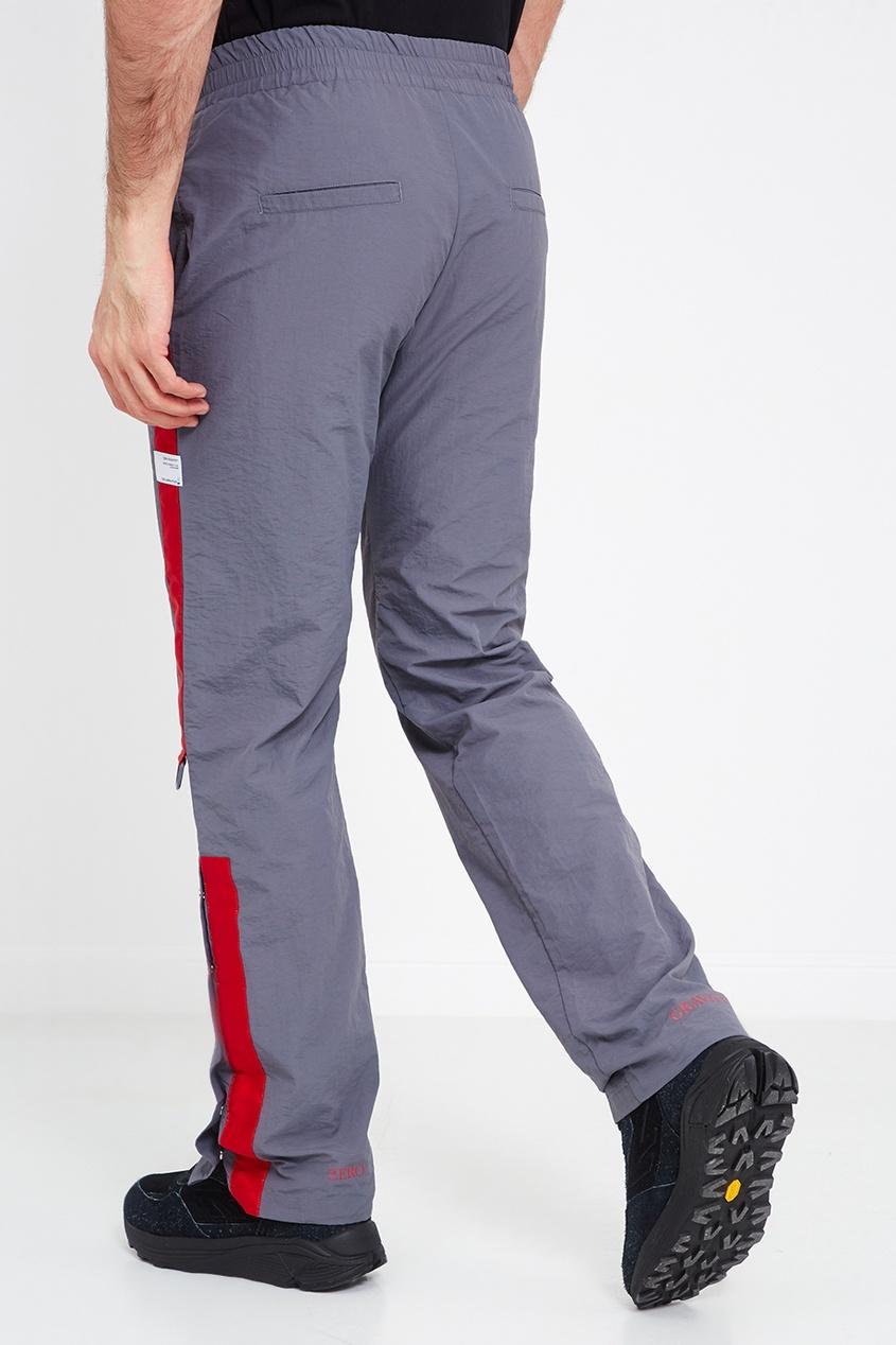 C2H4 Серые брюки с красными лампасами ялу простого сплошного цвета джинсы мужского бизнеса мужчины талия прямые случайные джинсы темно синий 1907 32