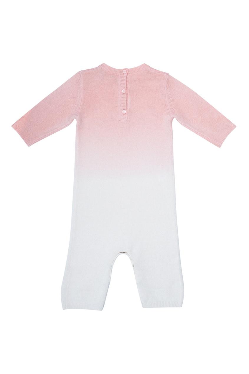 Кашемировое розовое боди