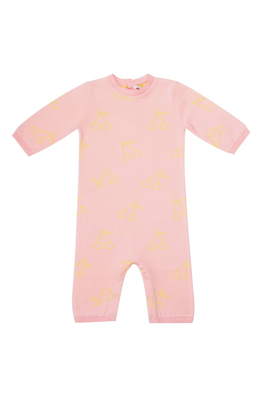 Bonpoint Розовое хлопковое боди