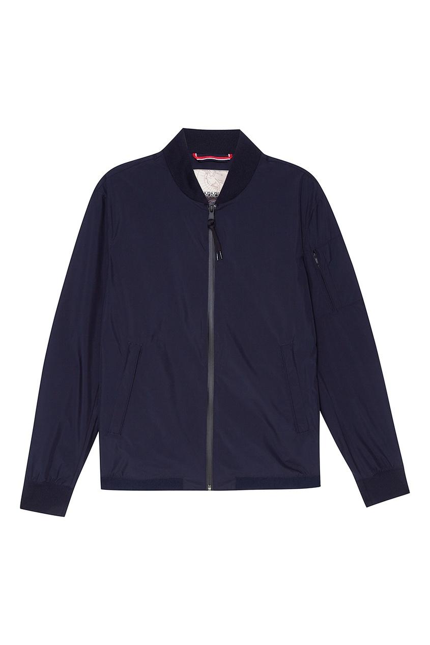 Napapijri Темно-синий бомбер на молнии мужской пуловер sinosigma 2015 star napapijri fit type