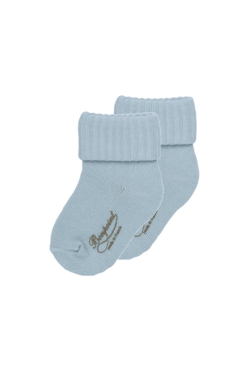 Bonpoint Синие хлопковые носочки etro синие хлопковые брюки
