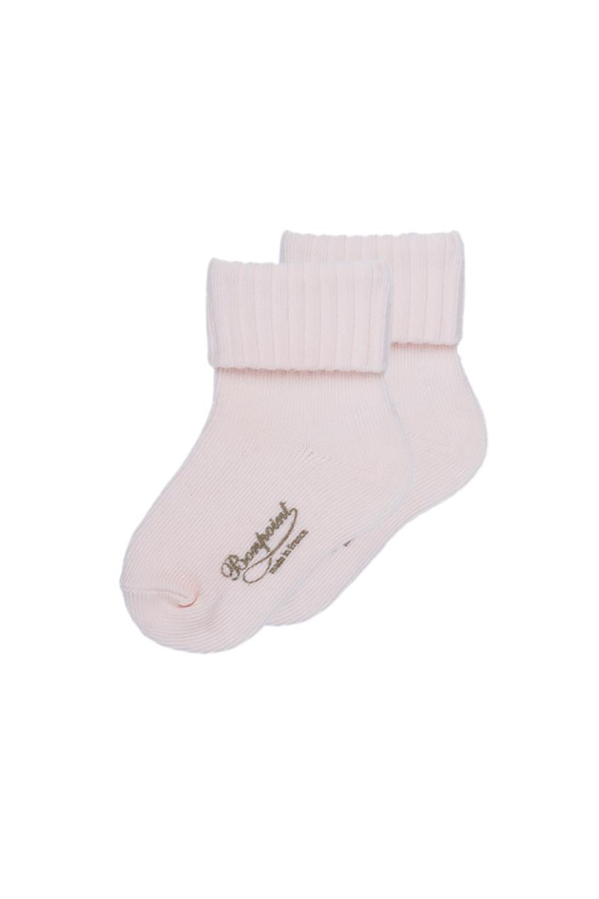 Bonpoint Светло-розовые носочки из хлопка miacompany шерстяные носочки розовые