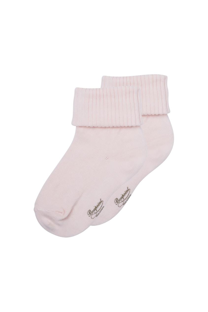 Bonpoint хлопковые носочки с логотипом Bonpoint miacompany шерстяные носочки розовые