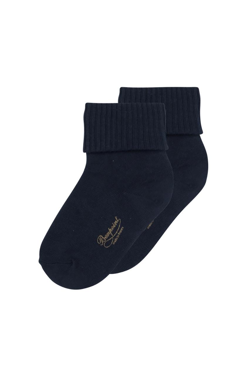 Bonpoint Черные хлопковые носочки с логотипом Bonpoint bonpoint кожаный портфель с контрастными деталями