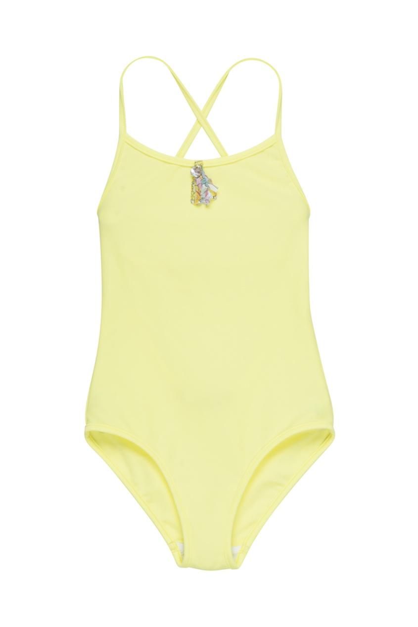 Bonpoint Слитный купальник желтого цвета слитный купальник sorella купальник animal instinkt