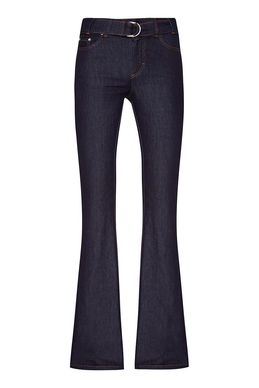 Red Valentino Синие расклешенные джинсы