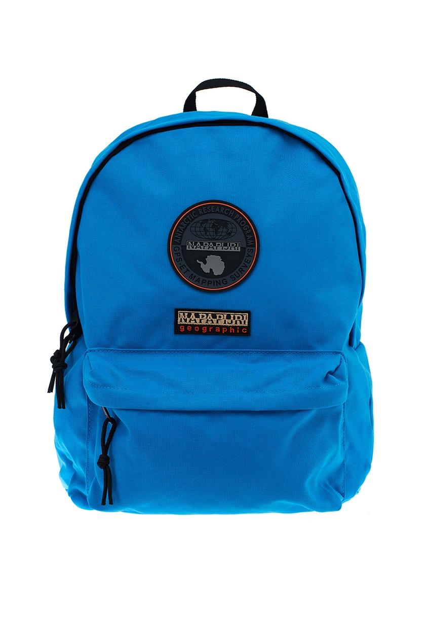 Napapijri Синий текстильный рюкзак с логотипом napapijri худи с логотипом berthow