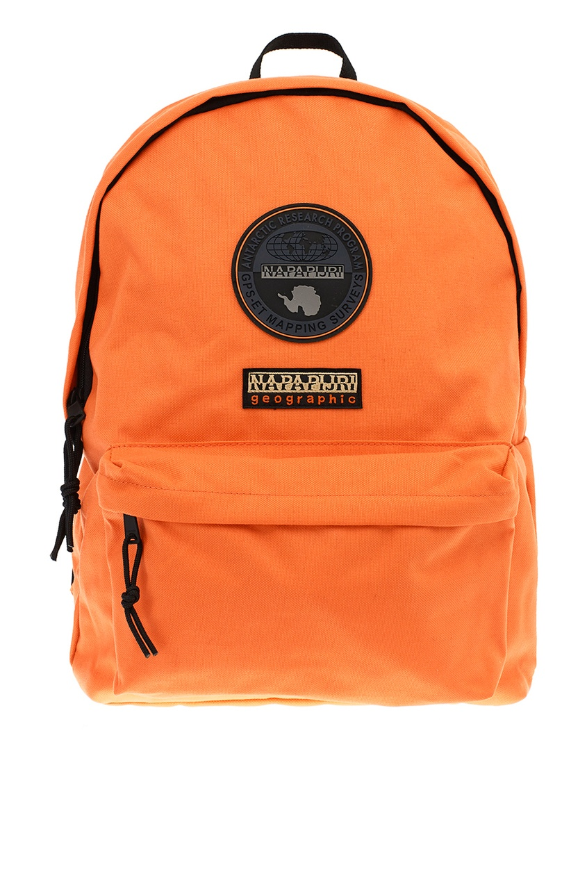 Napapijri Оранжевый текстильный рюкзак с логотипом рюкзак napapijri napapijri na154buahtq1