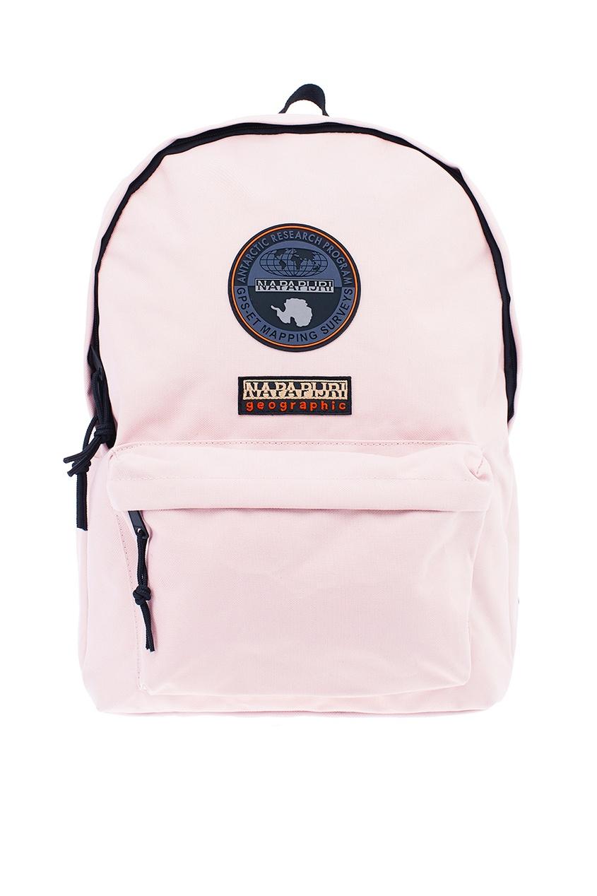 Светло-розовый текстильный рюкзак