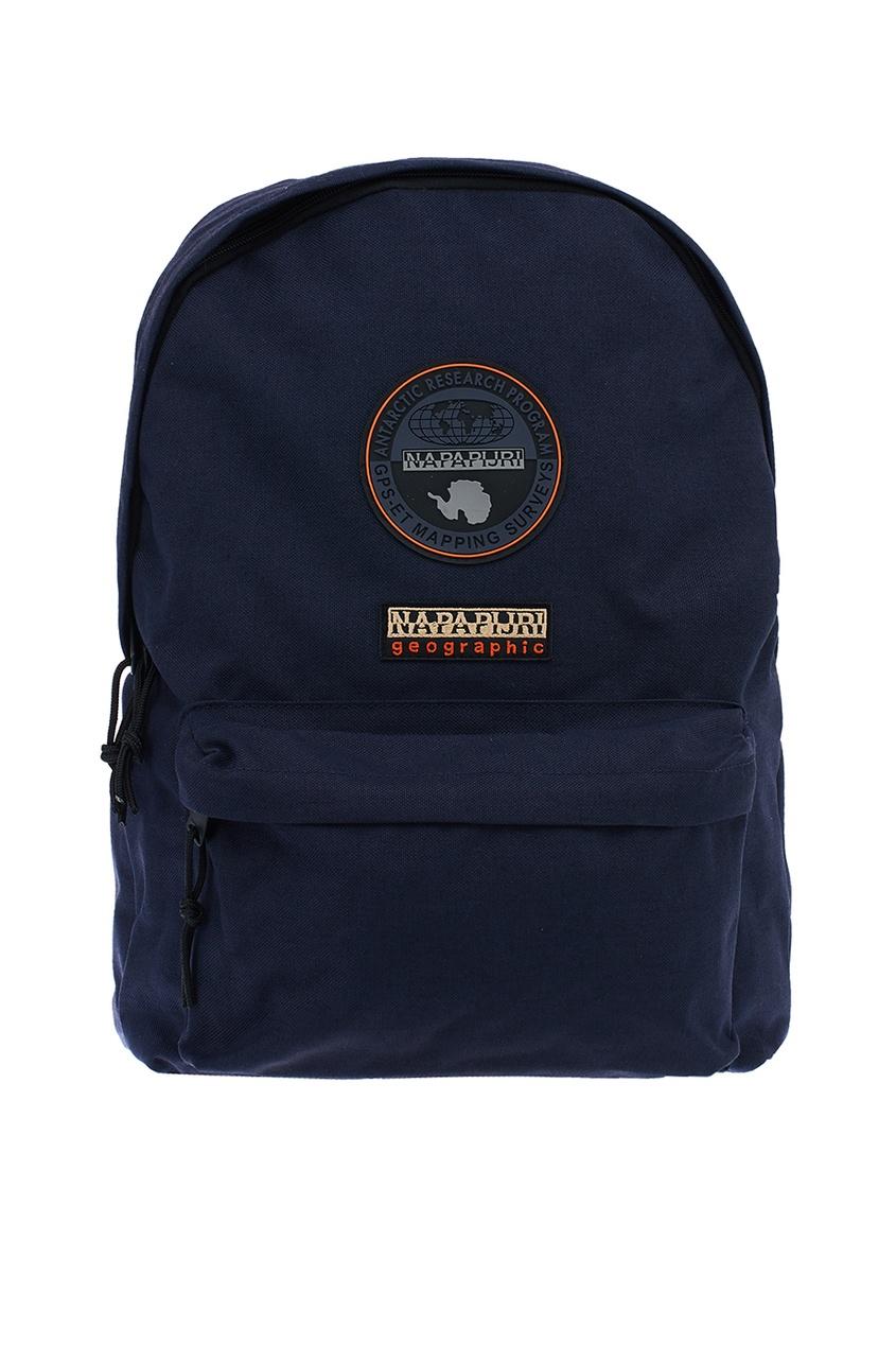 Темно-синий текстильный рюкзак