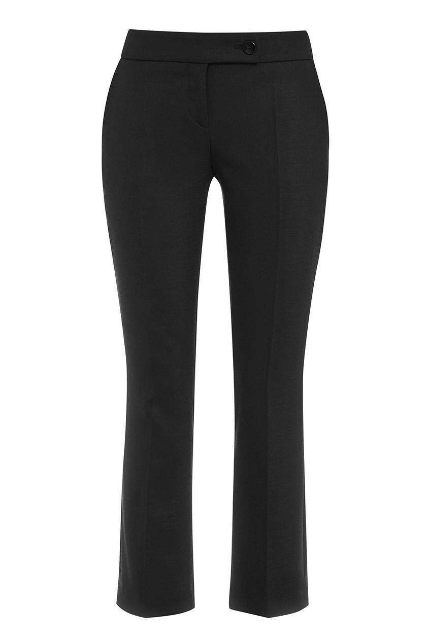 женские брюки boss, черные