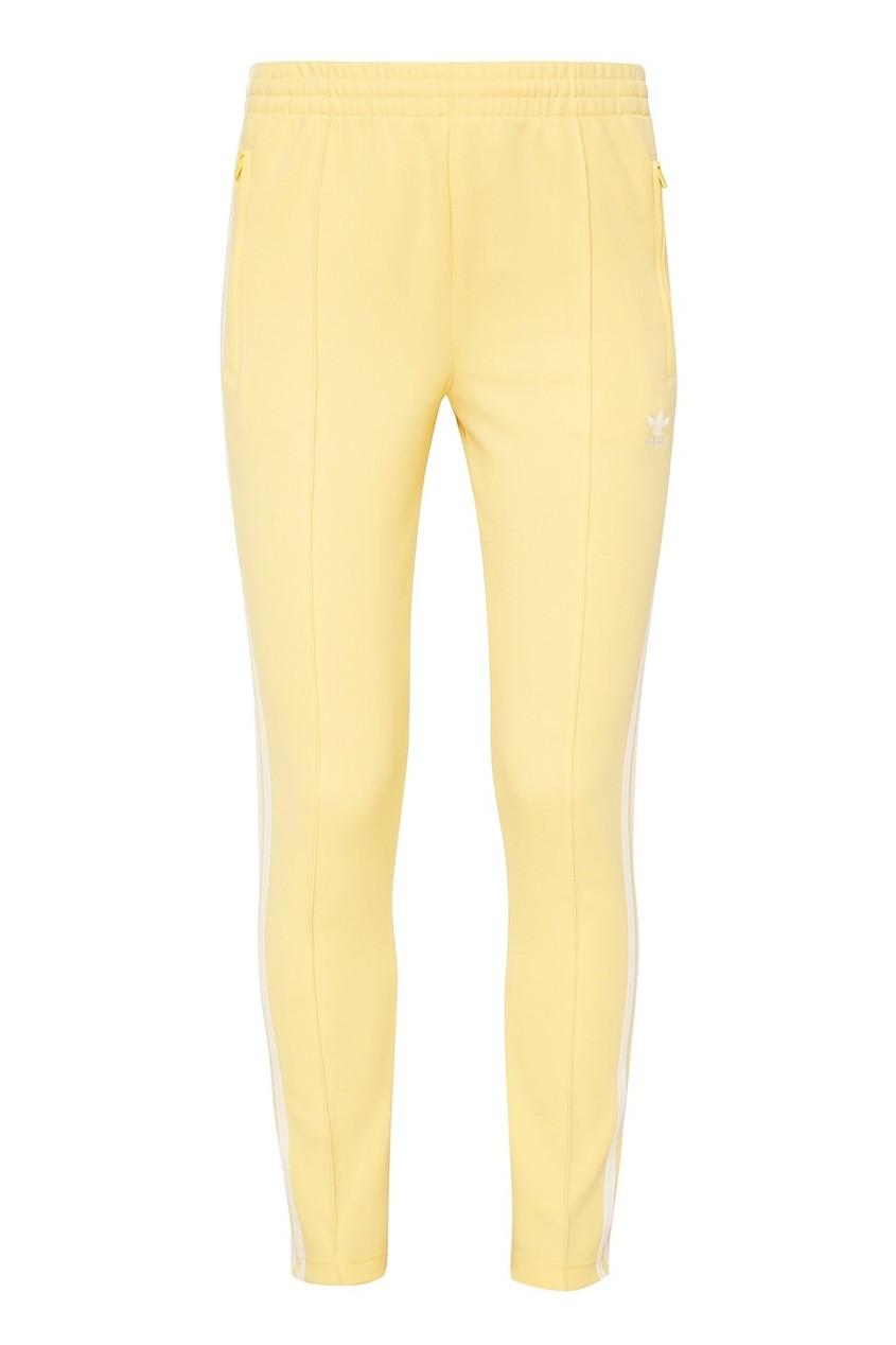 Adidas Желтые спортивные брюки SST спортивные брюки feelj брюки на резинке