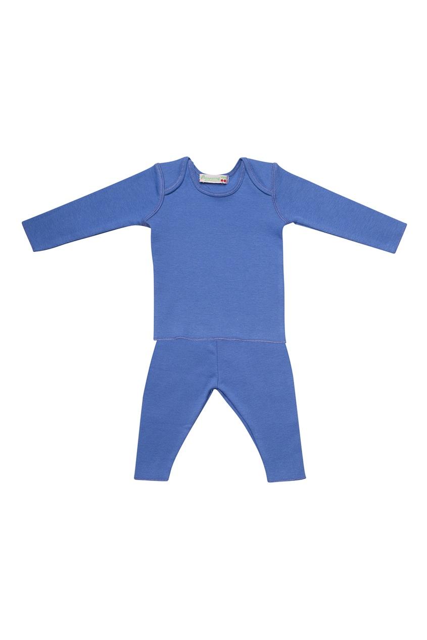 Bonpoint Хлопковый комплект лавандового цвета одеяло лавандового цвета с принтом brums ут 00011835