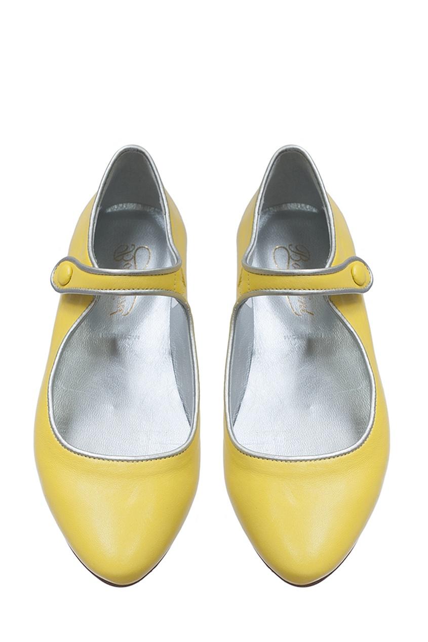 Bonpoint Кожаные желтые туфли BELINDA belinda ellsworth direct selling for dummies
