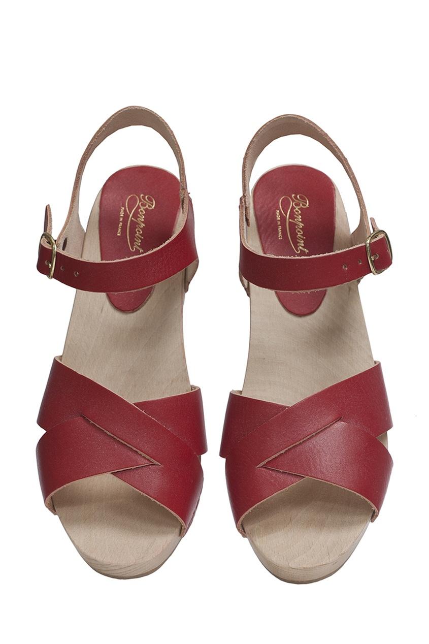 Bonpoint Кожаные босоножки MARY босоножки кожаные  halias