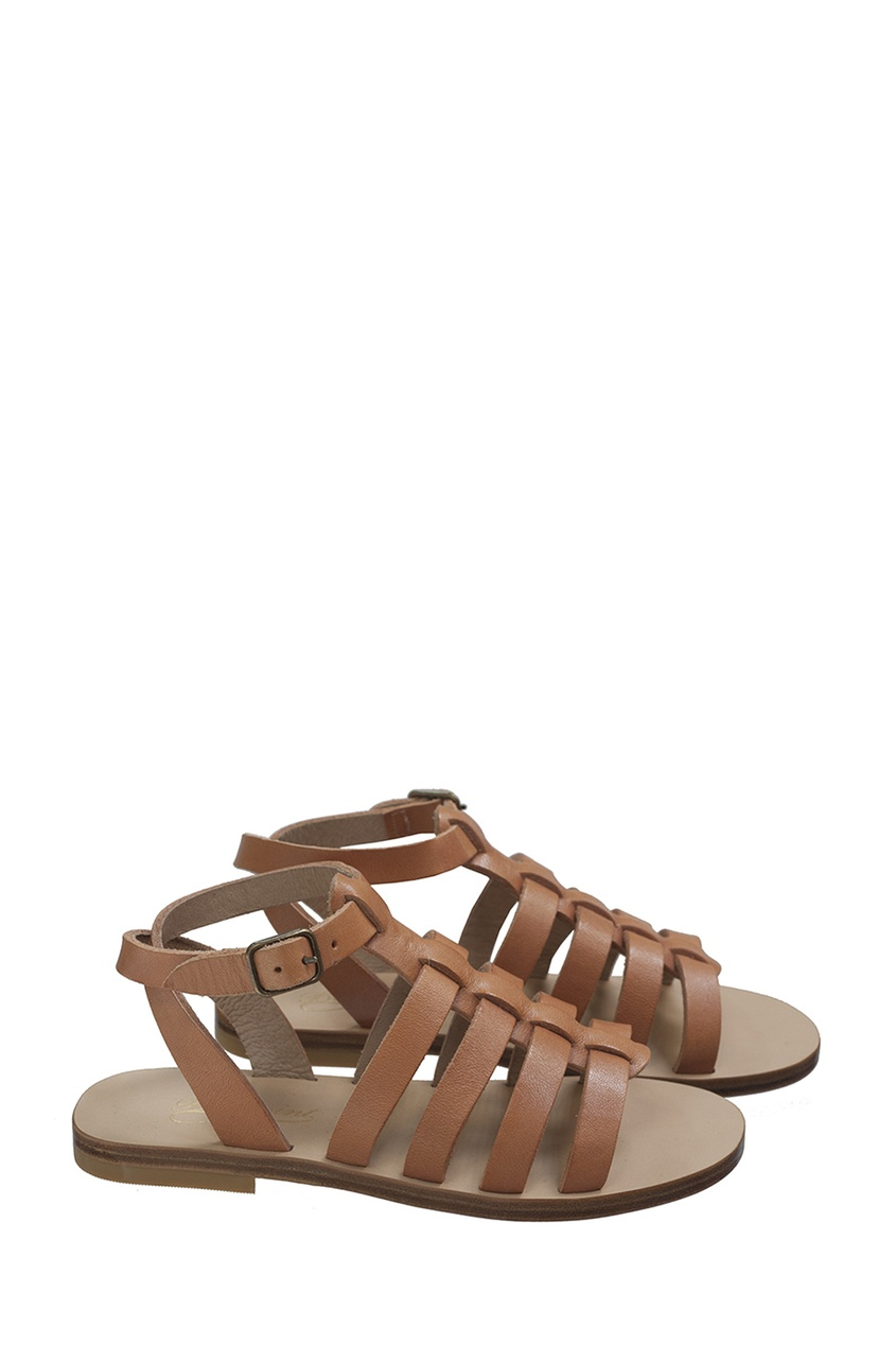 Кожаные сандалии RAMA от Bonpoint