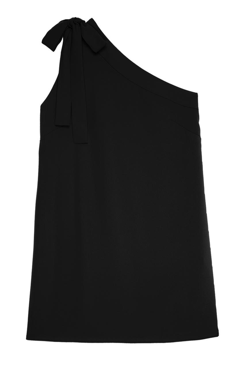 P.A.R.O.S.H. Черное платье с открытым плечом