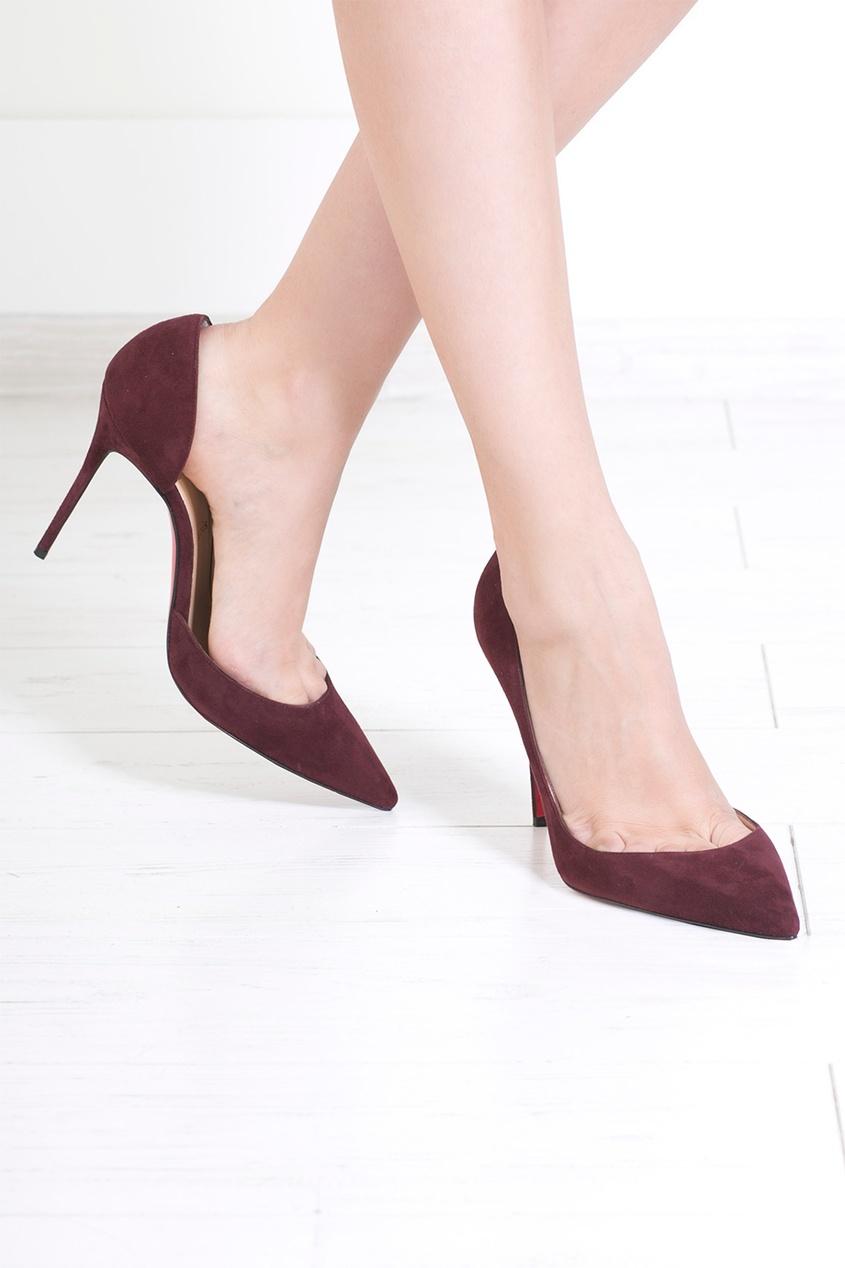 Туфли из замши Iriza 100