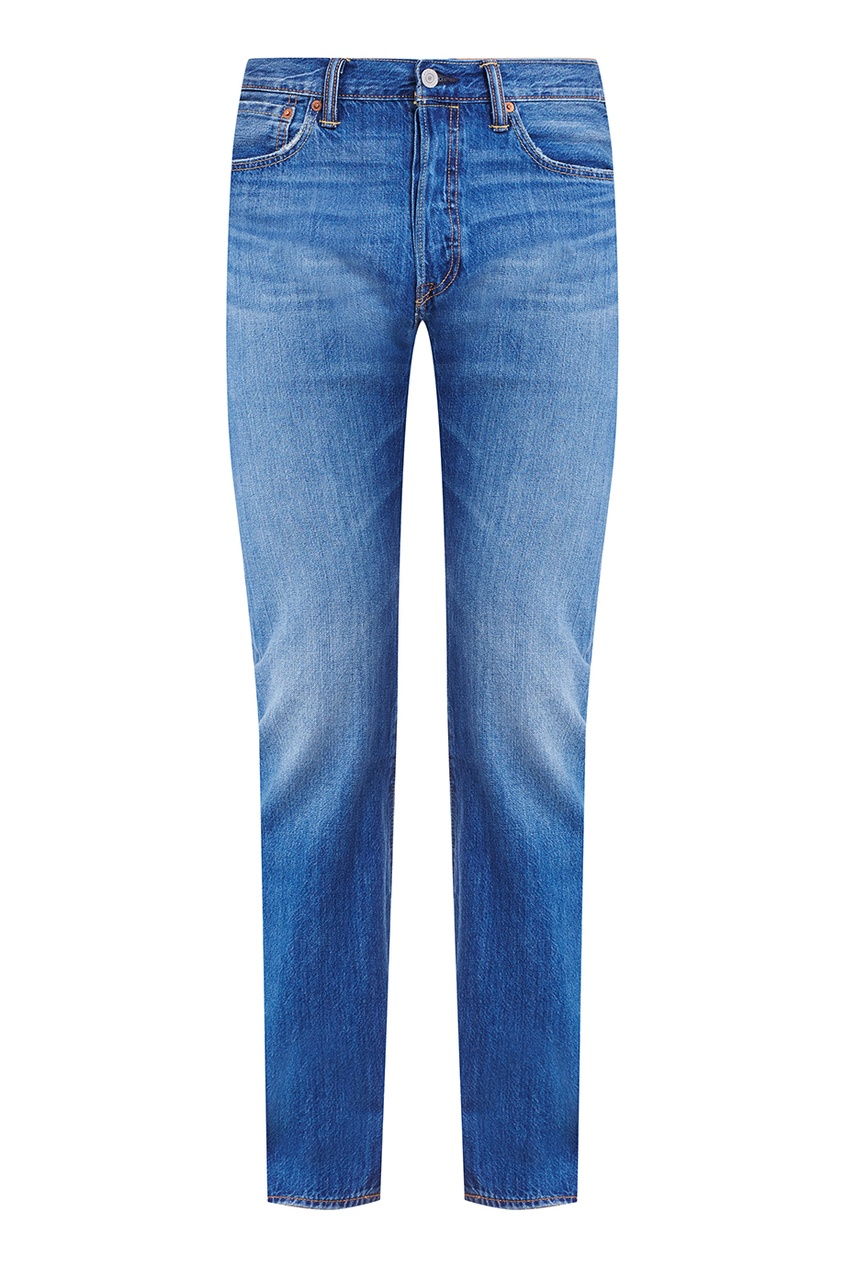 Levi's® Синие потертые джинсы 501 LEVISORIGINAL FIT ROCKY ROAD levi's® levi's® 7712737140