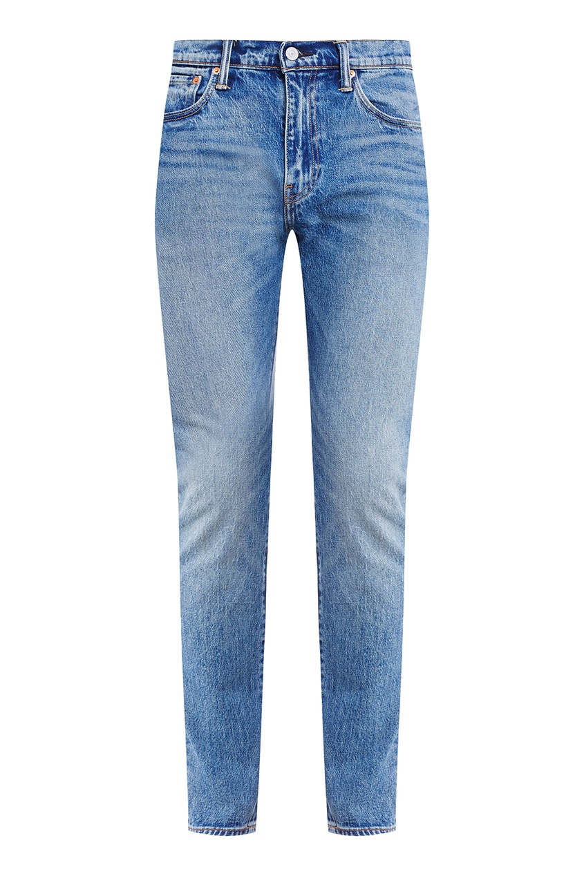 Levi's® Голубые «вареные» джинсы 512 SLIM TAPER FIT ROLF футболка wearcraft premium slim fit printio акула