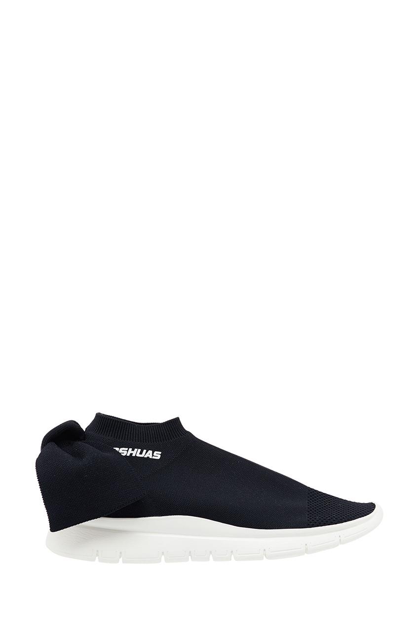 Joshua Sanders Черные текстильные кроссовки joshua sanders кожаные ботинки