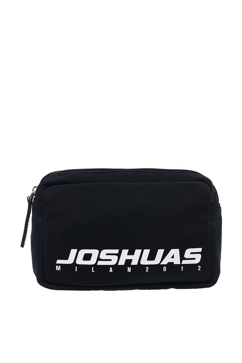 Joshua Sanders Черная поясная сумка с логотипом