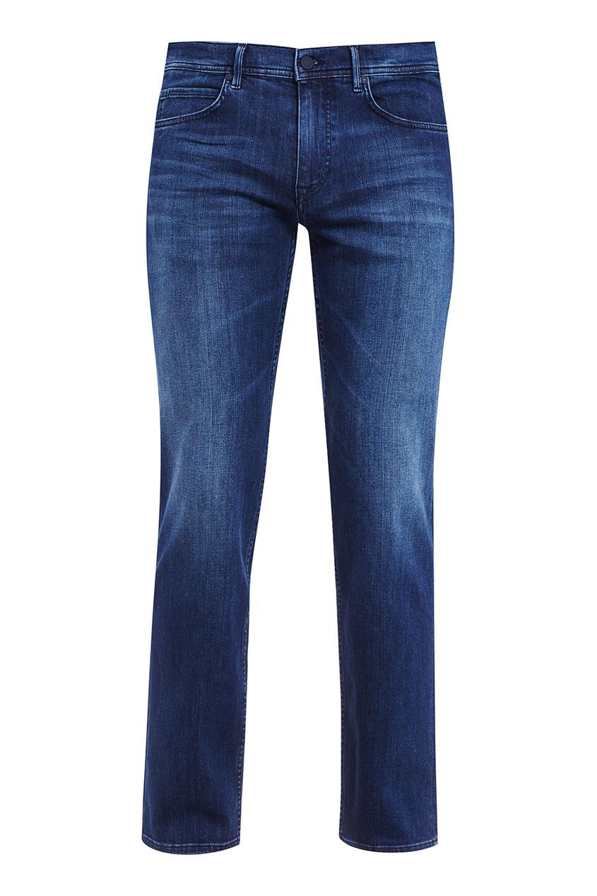 Boss Green Синие потертые джинсы boss orange толстовка