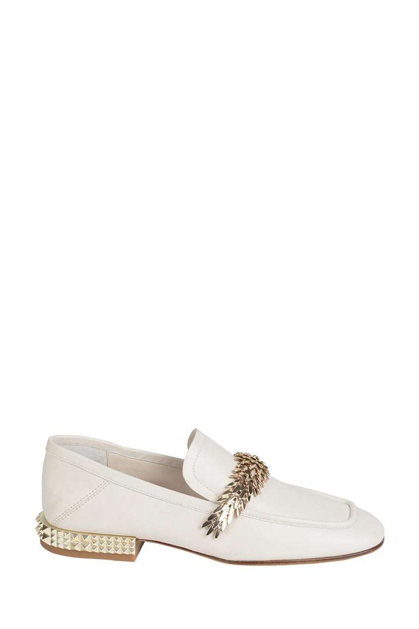 Туфли с золотистой отделкой Edgy