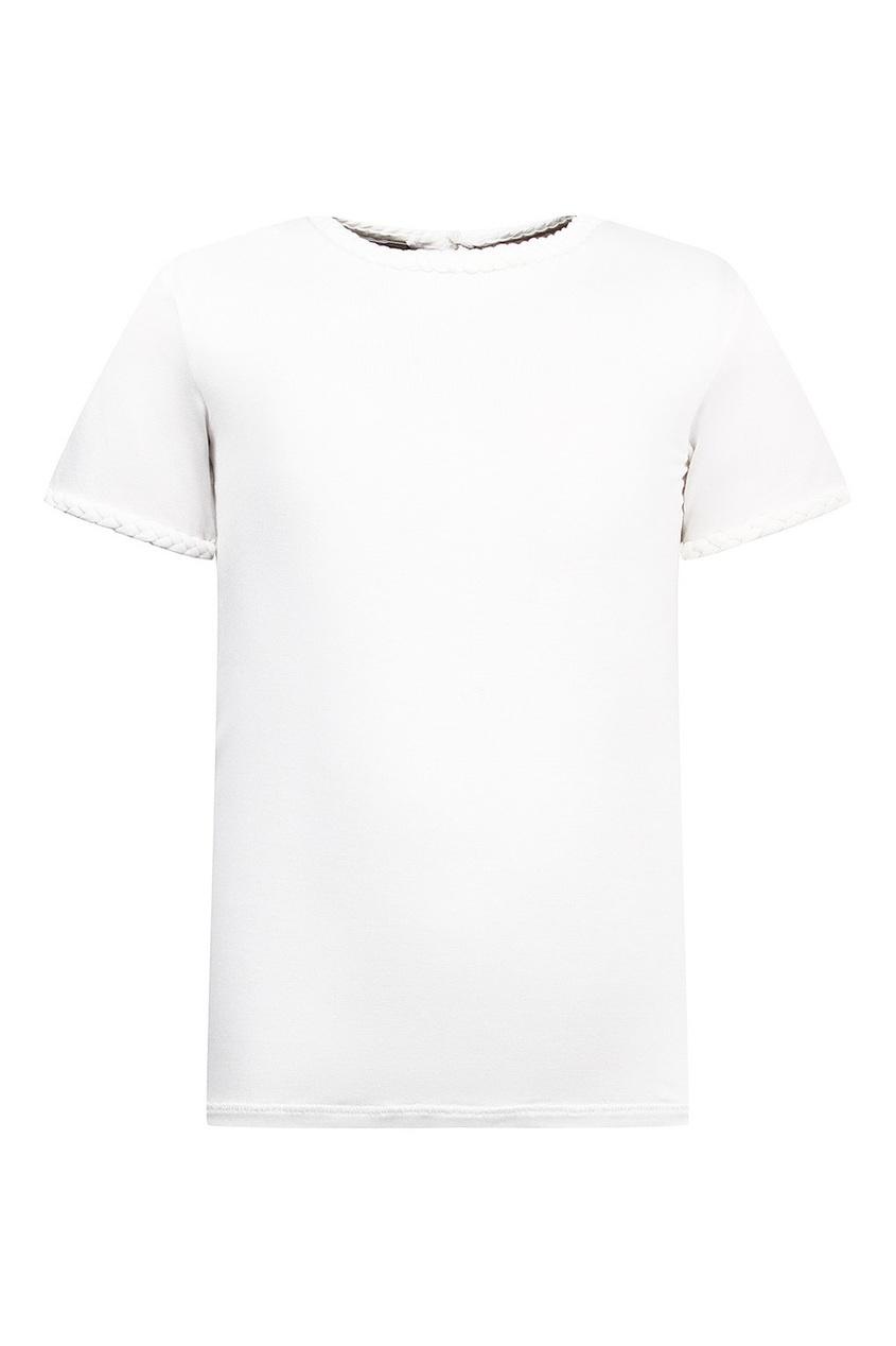 Dior Children Футболка с плетеной отделкой футболка baby dior футболка