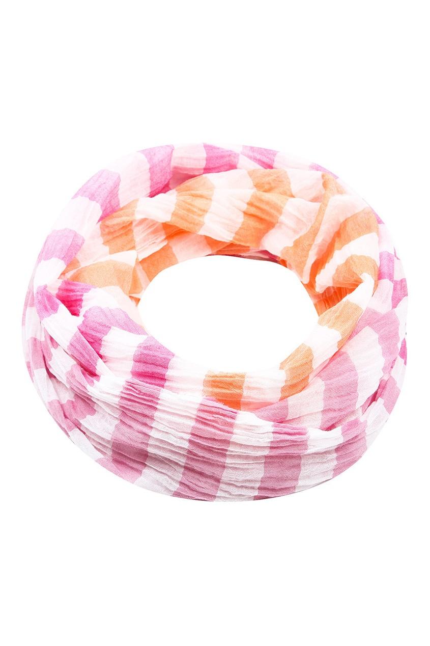 il Gufo Цветной шарф в полоску