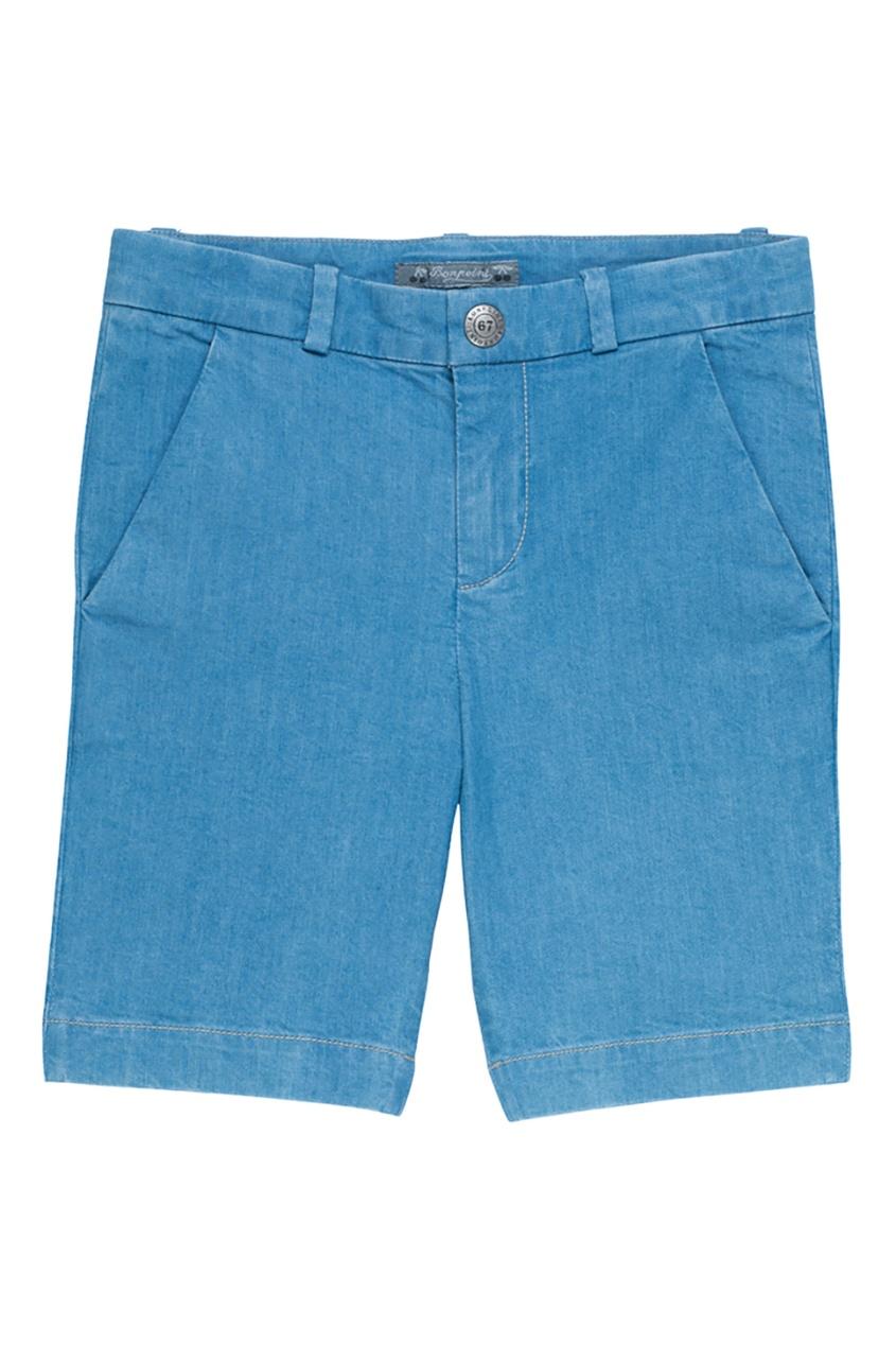 Bonpoint Шорты голубые CALVIN2 цена