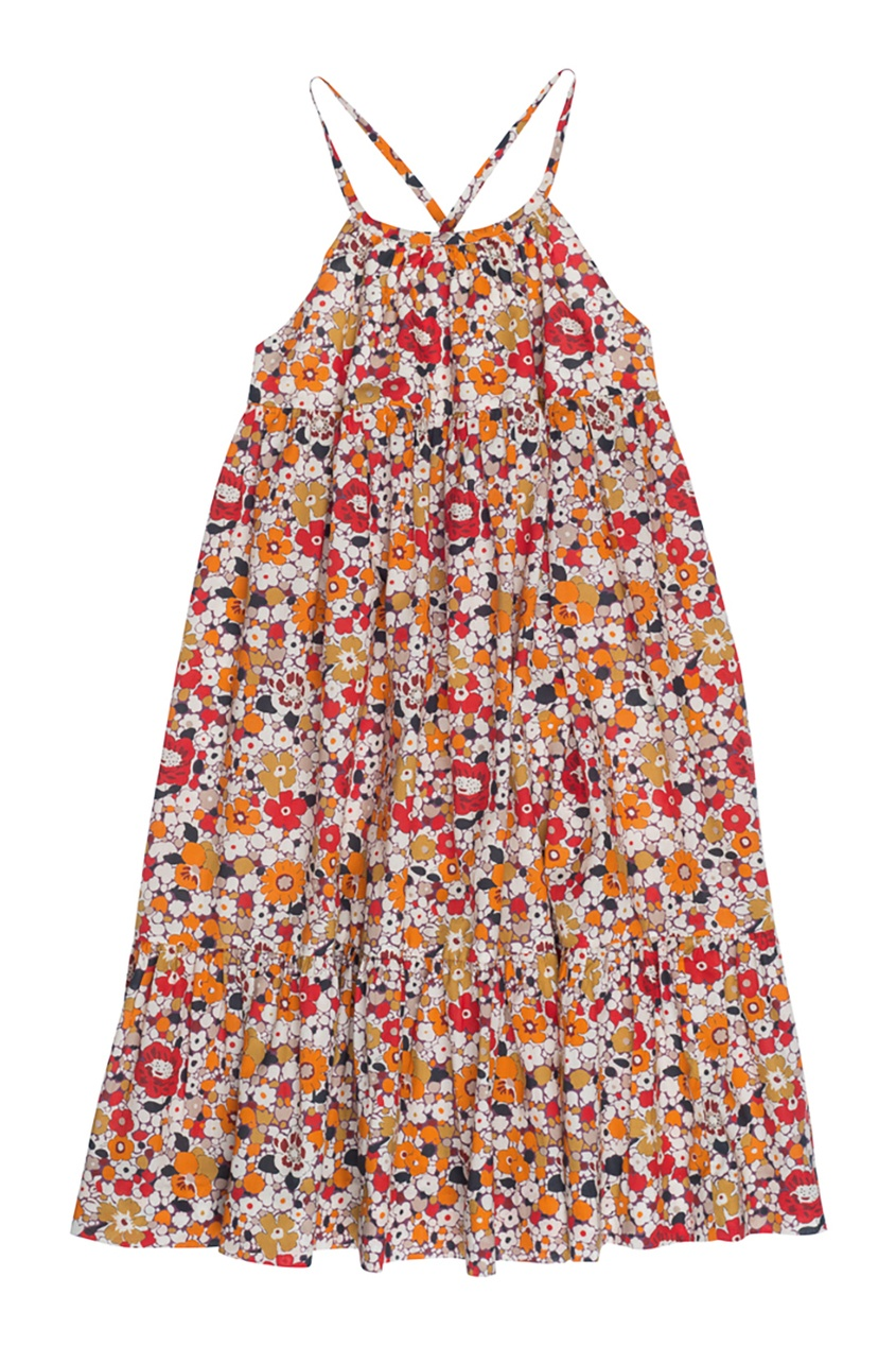 Купить со скидкой Хлопковое платье GAELLE2