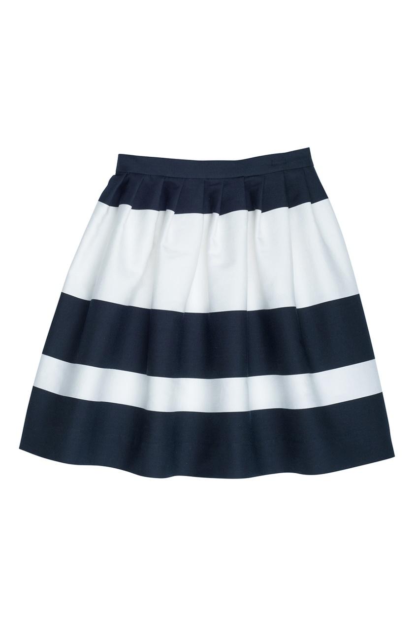 Bonpoint Хлопковая юбка в полоску CONCERTO