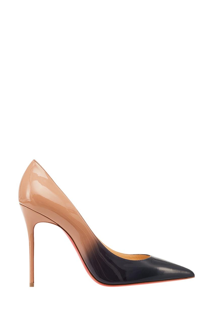 Лакированные туфли Decollete 100 Christian Louboutin