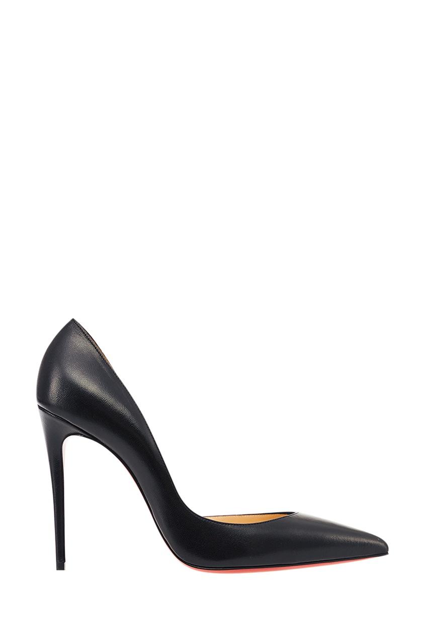 Черные кожаные туфли Iriza 100 Christian Louboutin
