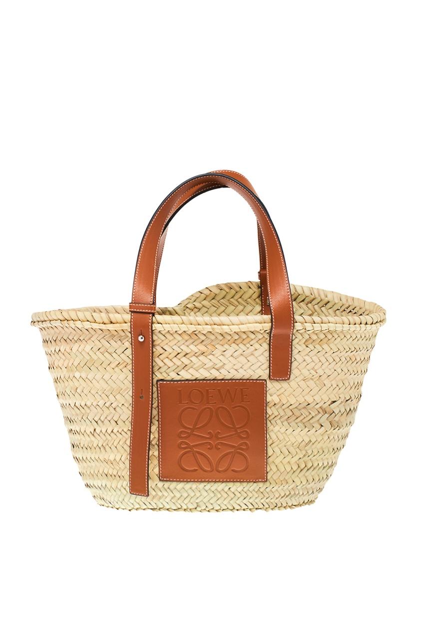 LOEWE Плетеная сумка Basket