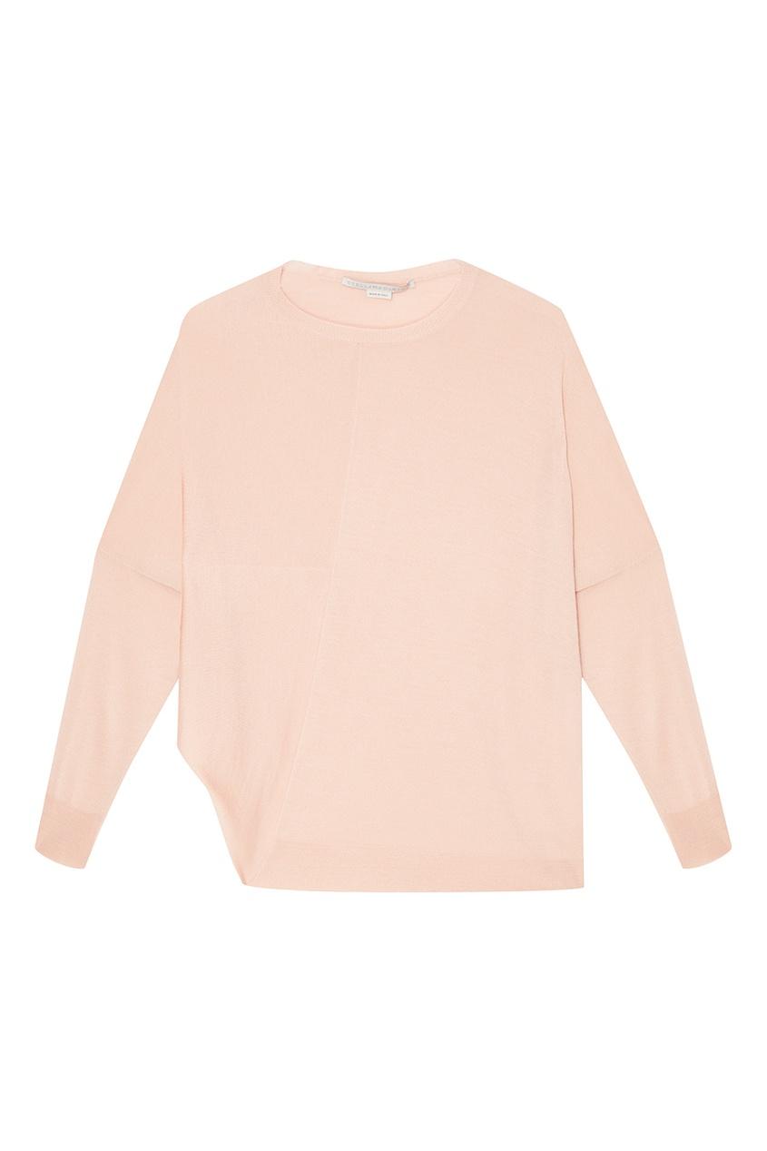 Stella McCartney Розовый джемпер из шерсти и шелка stella mccartney шерстяной джемпер
