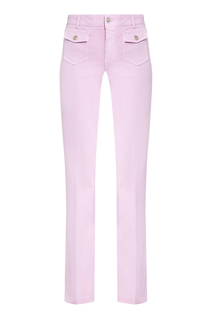 Stella McCartney Брюки с накладными карманами stella mccartney джемпер с контрастным узором