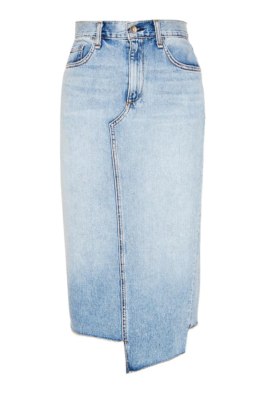 Джинсовая юбка-карандаш Rag&Bone