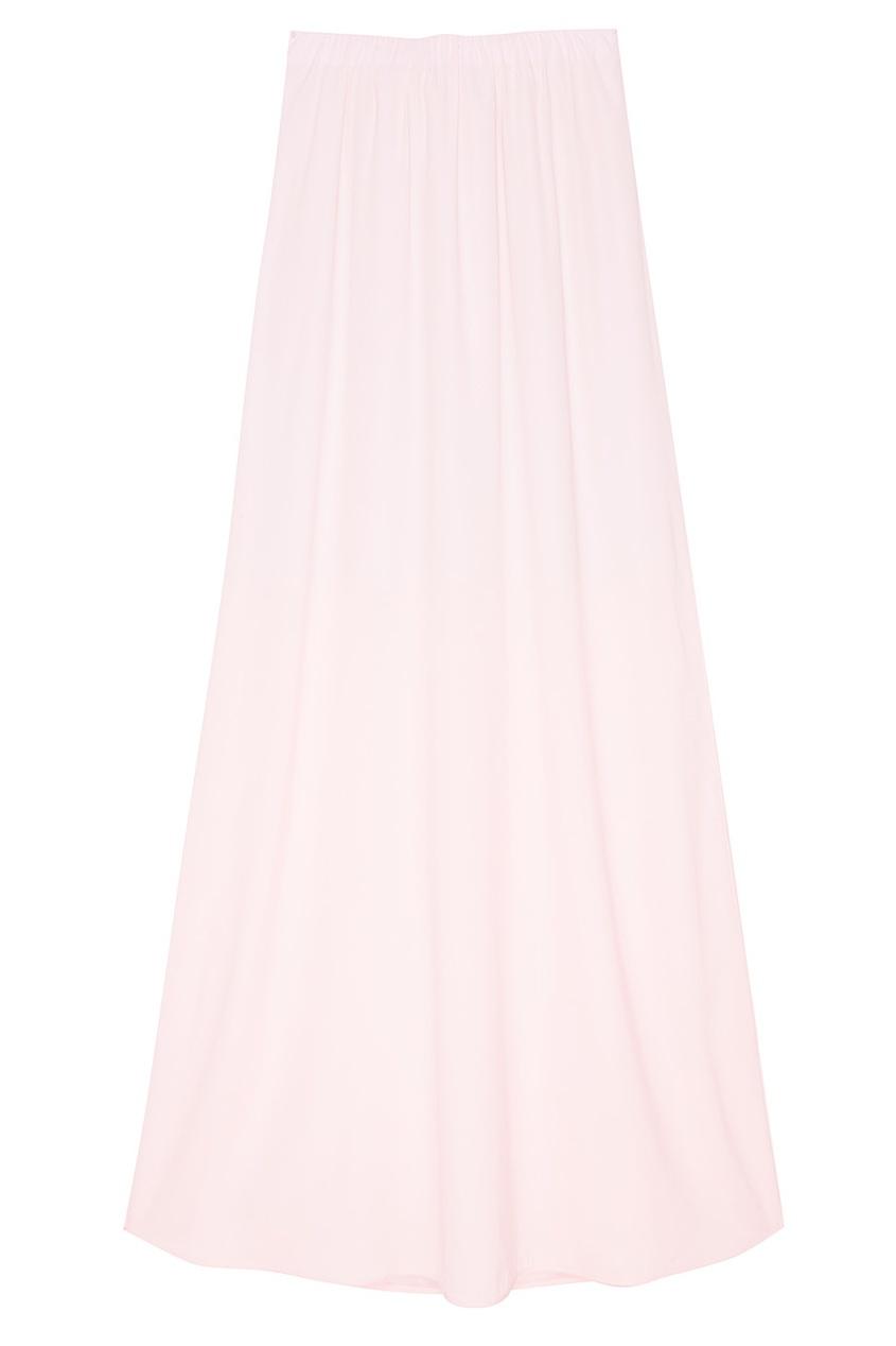 Шелковая длинная юбка Pick Lunga